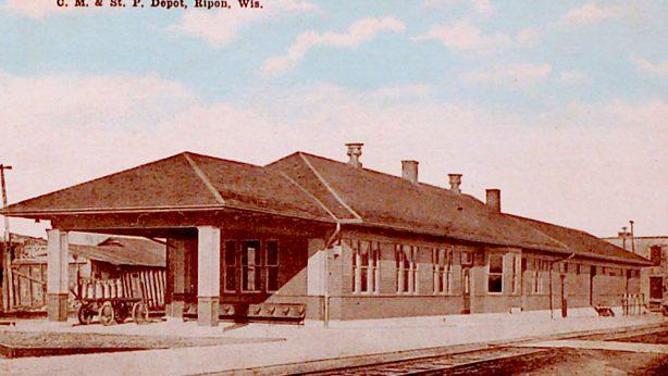 Chicago, Milwaukee & St. Paul Depot