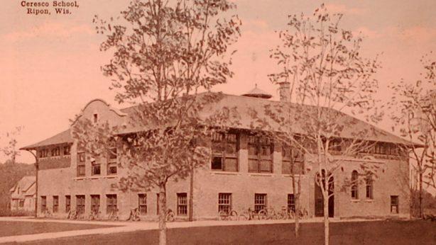 The last Ceresco High School built in 1913, razed in 1994.