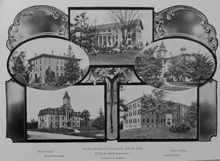 Ripon College Photos Circa 1889