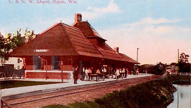 Chicago, Northwestern Railroad Depot