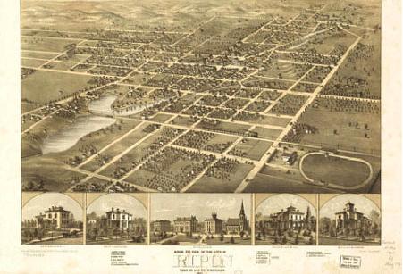 City of Ripon Map 1867